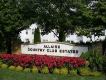 Allaire Country Club Sign