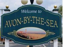 Avon By the Sea Sign