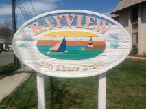 Bayview in Highlands sign
