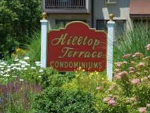 Hilltop Terrace in Highlands Sign