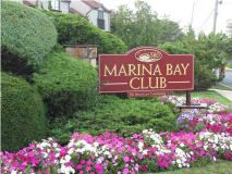 Marina Bay Club Sign Long Branch