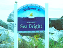 Sea Bright Welcome Sign
