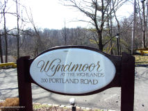 Wyndmoor in Highlands Sign